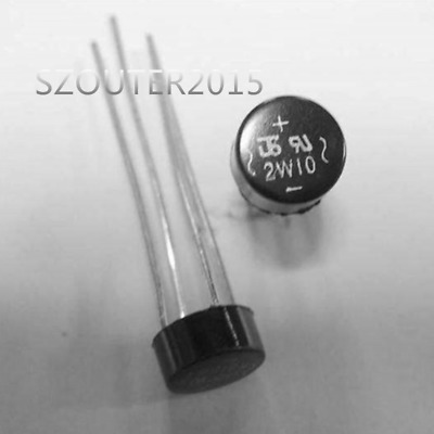 10pcs Inner 2W10 2A Bridge Diode Rectifier 2W10 Decorate NEW