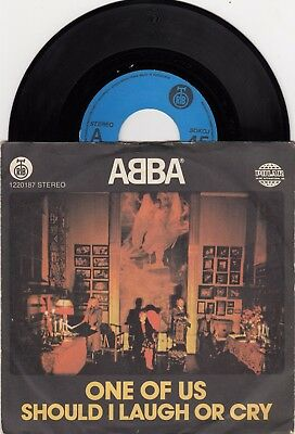 "Abba One Of Us / Should... Rare 1982 Unique Lable Vinyl Record Yugoslavia 7"" Ps"