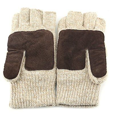 Metog Suede Thinsulate Thermal Insulation Mittens ,Size M Gloves