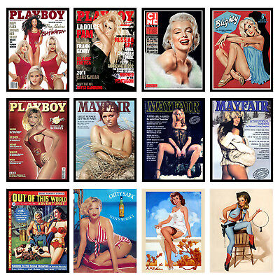 Pin Ups Retro Metal Signs/Plaques Man Cave, Cool Novelty Gift 3