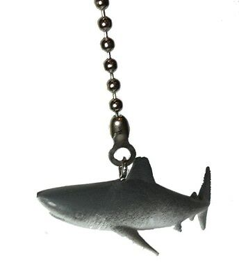 Shark Ceiling Fan Pull Light Ocean Animal Nursery Light  Decor Child Gift