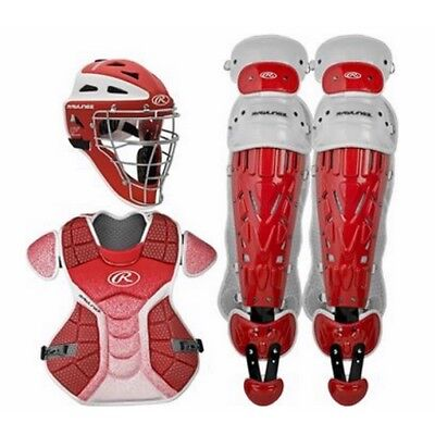 Rawlings Velo Catchers Set Youth VCSY - RD/WH