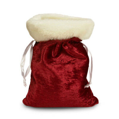 "Christmas / Holiday Santa Clause Gift Pouch 5"" x 7"""