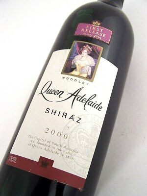2000 WOODLEY WINES Queen Adelaide Shiraz Isle of Wine