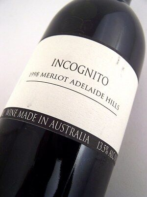 1998 INCOGNITO Merlot Isle of Wine