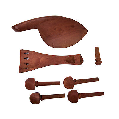Acoustic violin pegs polished ebony fiddle pegs 4/4 violin parts accessories JR