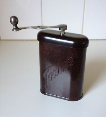 Rare Vintage Bakelite Tramp Czech Portable Coffee Grinder Collect Display Cafe