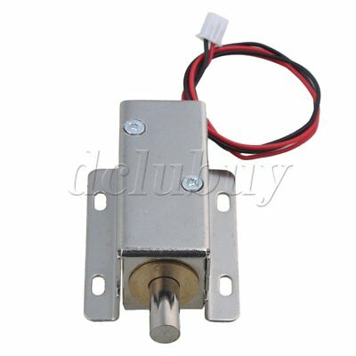 TFS-A21 Cabinet Drawer Electric Bolt Assembly Solenoid Lock DC24V 0.6A