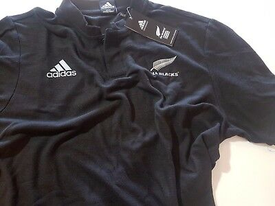 ADIDAS ALL BLACKS SHIRT NEW ZEALAND RUGBY UNION RRP$70 Official Licensed Product