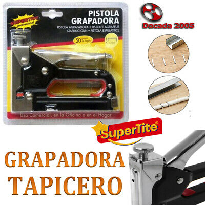 GRAPADORA MANUAL Tapicero grapas de 14mm Envio 24H