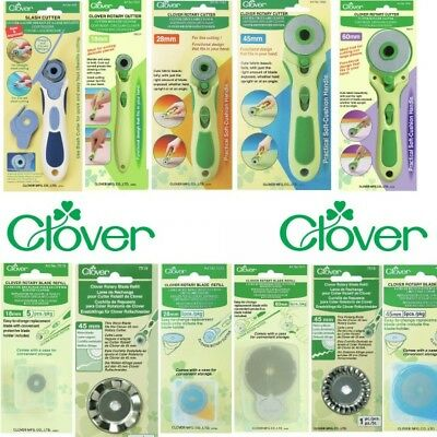 Clover Soft Grip Rotary Cutter Also Replacement Blades