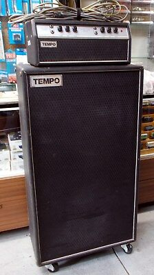 Tempo Vintage Amplifier Stack - Australian Made, (Rose Music) 1970's