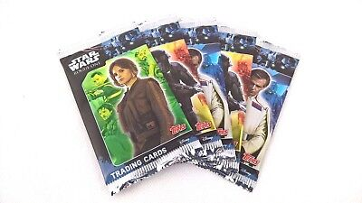 5x Star Wars Rogue One Sammelkarten Booster Trading Cards Topps (25 Karten)
