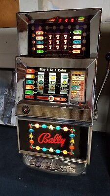 Bally Model 873 Slot Machine-First 5 Pay Line