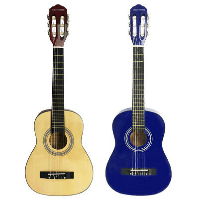 Rocket 1/2 Size Classical Guitar - Blue or Natural