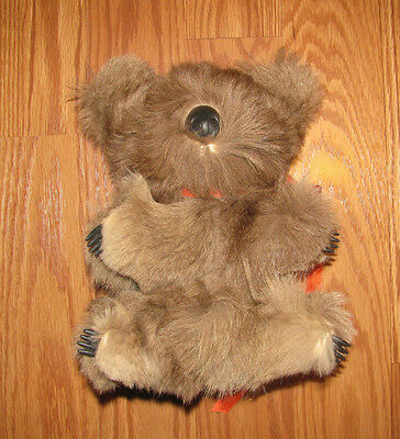 "Koala Bear 8"" Made from Real Fur Australia"