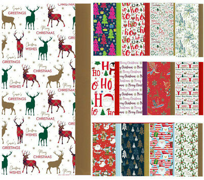Christmas Tissue Paper Sheets Acid Free 50x66cm Large Luxury Xmas Gift Wrapping
