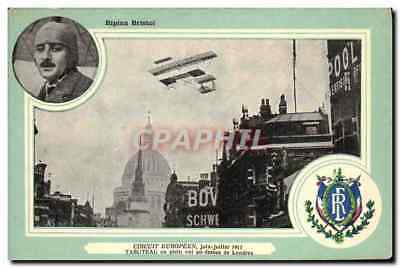 CPA Avion Aviation Biplan Bristol Circuit Europeen Juin Juillet 1911 Tabuteau en