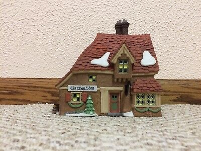 """Dept. 56 """"Chop Shop"""" from the Dickens Village Series 58331"""