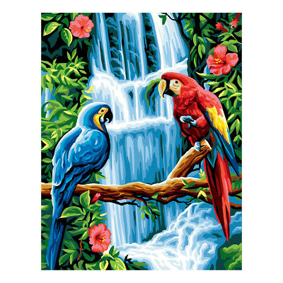 Royal Paris Tapestry Printed Canvas The Macaws Parrots | 98801320115
