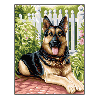 Royal Paris Tapestry Printed Canvas Belle German Shepherd | 98801420446
