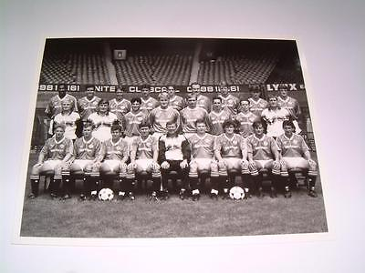 Manchester United Fc 1988-89 Squad Press Or Club Issued Photograph