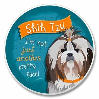 SHIH TZU AbsorbaStone stone coaster for Car Truck SUV Made in USA NEW
