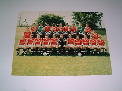 Manchester United Fc 1987-88 Squad Press Or Club Issued Photograph