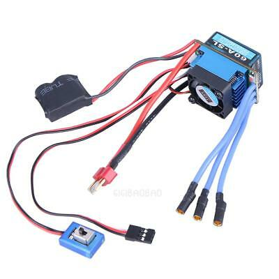 60A Car Auto Use Supply Brushless Electric for (ESC) 1:10 Racing Truck #gib