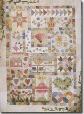 Pretty n Pink quilt pattern by Therese Hylton
