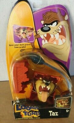 looney tunes mattel back in action taz brand new (bends)