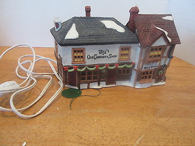 Dept 56 Dickens Village Series - The Old Curiosity Shop 59056 RETIRED  0417B