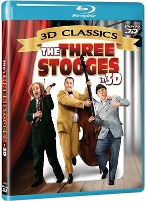 The Three Stooges - The Three Stooges in 3D [New Blu-ray 3D] With Blu-Ray 3-D