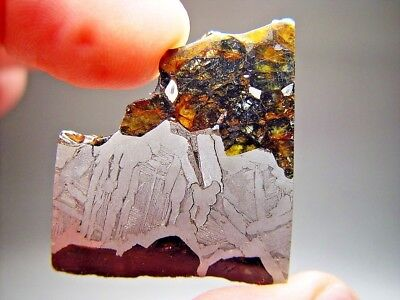 Cheap Price! Great Deal! Sensational Seymchan Pallasite Meteorite 17.6 Gms