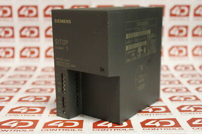 Siemens 6EP1333-2AA00 SITOP Power 5 Power Supply, 120/230VAC, 5A/24VDC - Used