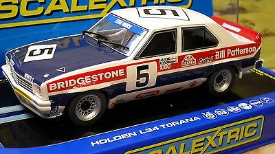 Scalextric 1/32 C3214 Holden L34 Torana, Brock/sampson, #5, Nib