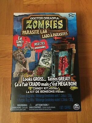 Doctor Dreadful Zombies  Parasite Lab Kit Best Before 2019