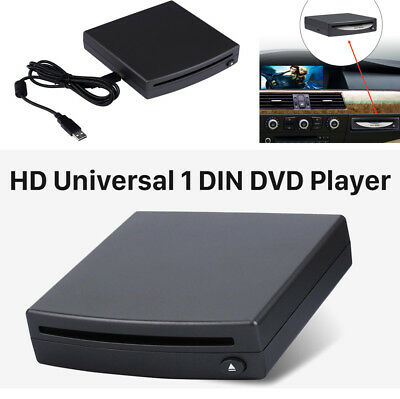 1Din Vehicle Car Radio DVD Player External Android Stereo USB Interface Connect