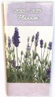 2018-19 Diary Ozcorp Slim Softcover 2 Year Planner Month to View YP29 Lavender