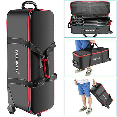 "Neewer Photo Studio Equipment Trolley Carry Bag 30""x11""x11"" with Straps"