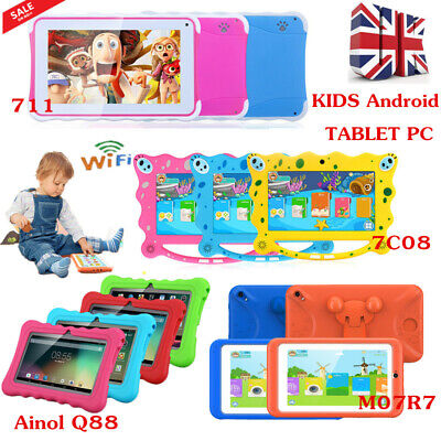 """7"""" INCH KID Android4.4/7.1 TABLET PC 8GB 3G WIFI CHILD CHILDREN Camera Xmas Gift"""