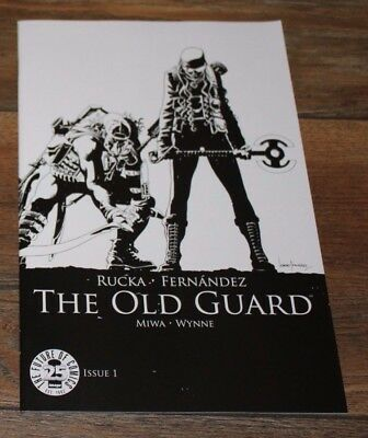 The Old Guard #1 - Sketchvariant - Image 25th Anniversary - Jubiläums Blindbox