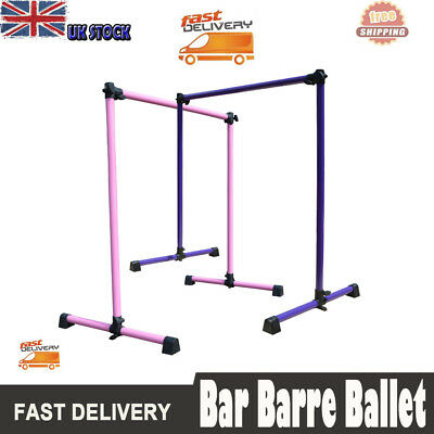 New Bar Portable Freestanding Barre Baby Single Height Adjustable Ballet Barre