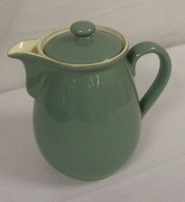 Denby Stoneware Manor Green 1½ Pt Coffee/hot Water  (Tr)