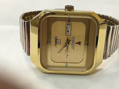 Vintage old rhino automatic Men's Watch Working  #201