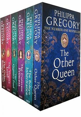 Philippa Gregory Tudor Court Novels 6 Books Collection Set Pack Virgin's Lover