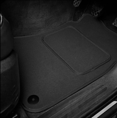 High Quality Car Floor Mats Set In Black/Black To Fit MG Midget 1275 (1966-1974)