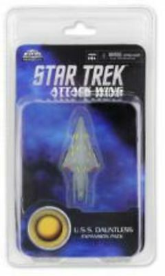 HeroClix Star Trek Attack Wing - U.S.S. Dauntless Expansion Pack