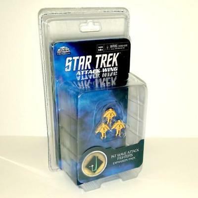 HeroClix Star Trek Attack Wing - 1st Wave Attack Fighters Expansion Pack