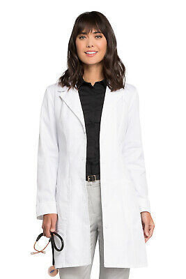 "Cherokee 2410 Women's 36"" Lab Coat Medical Uniforms Scrubs"